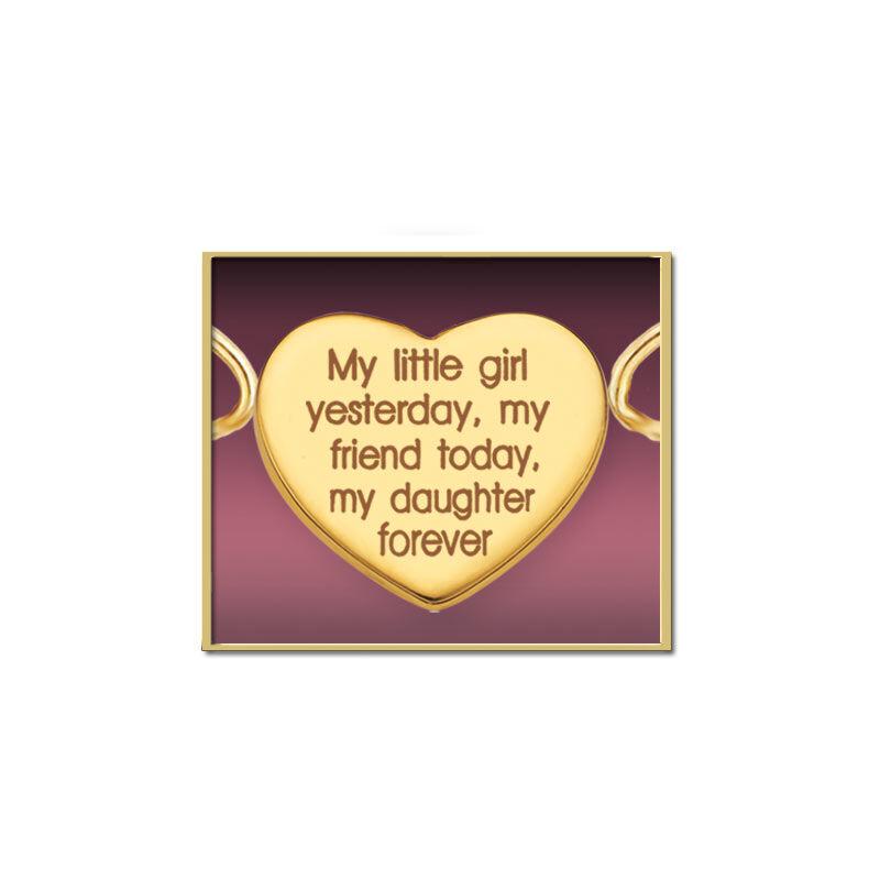 My Daughter Forever Diamond Bracelet 7517 013 4 2