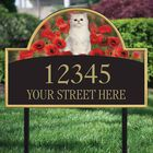 The Captivating Kitties Address Plaque by Simon Mendez 1088 008 6 2