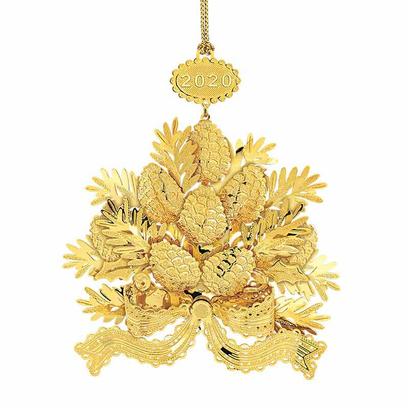 The 2020 Gold Christmas Ornament Collection 2161 006 8 11