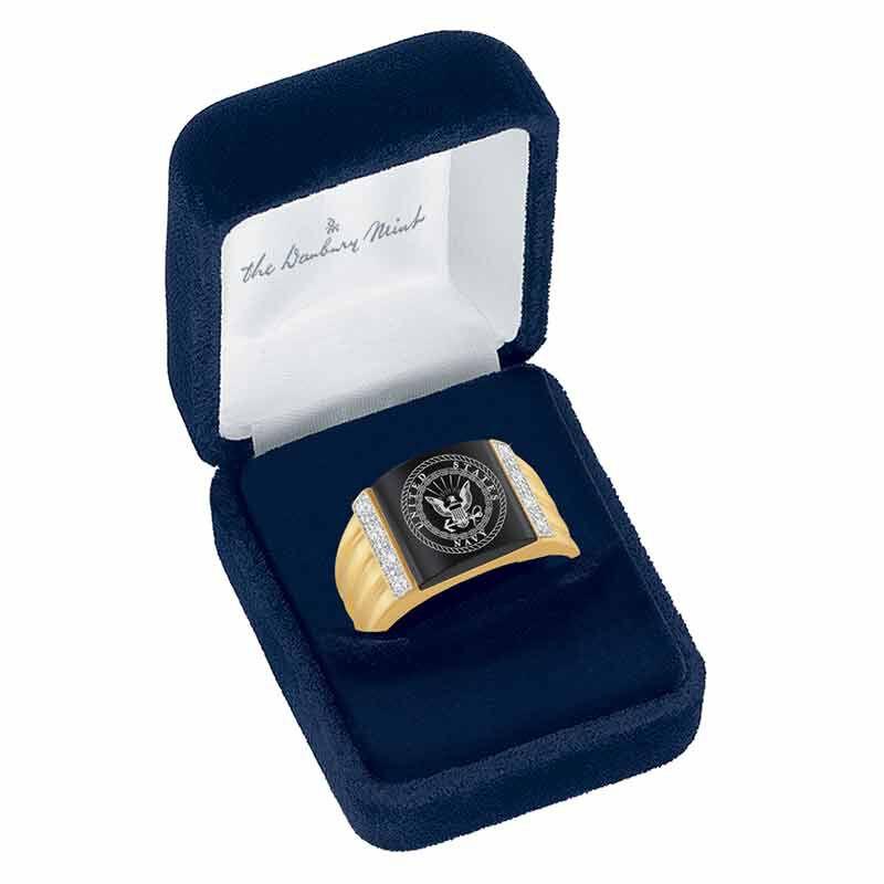 Navy Prestige Mens Ring 6266 001 4 2