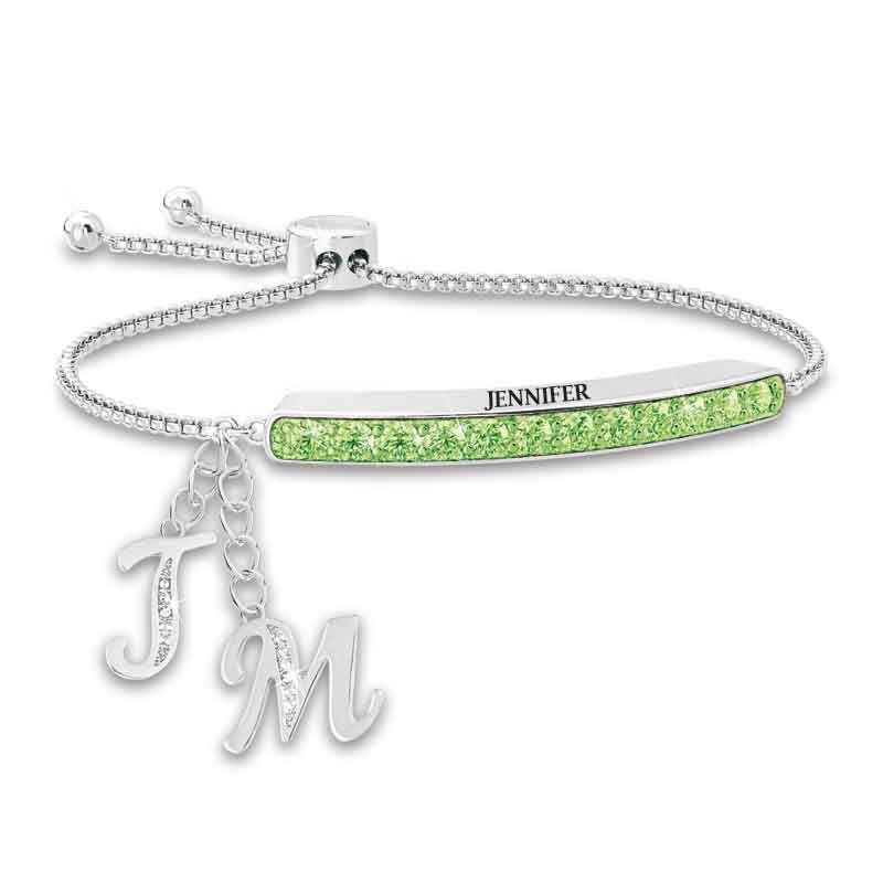Personalized Birthstone Bolo Bracelet 1864 002 9 8