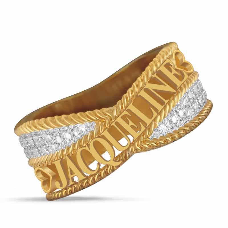 Personalized Diamond Ring 6724 001 0 1