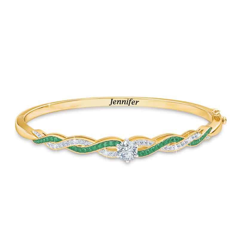 Birthstone Swirl Bracelet 5821 001 4 5