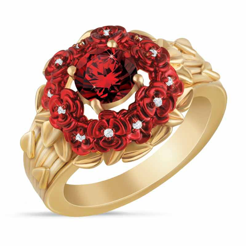 A Dozen Roses Diamond Ring 1457 001 4 1