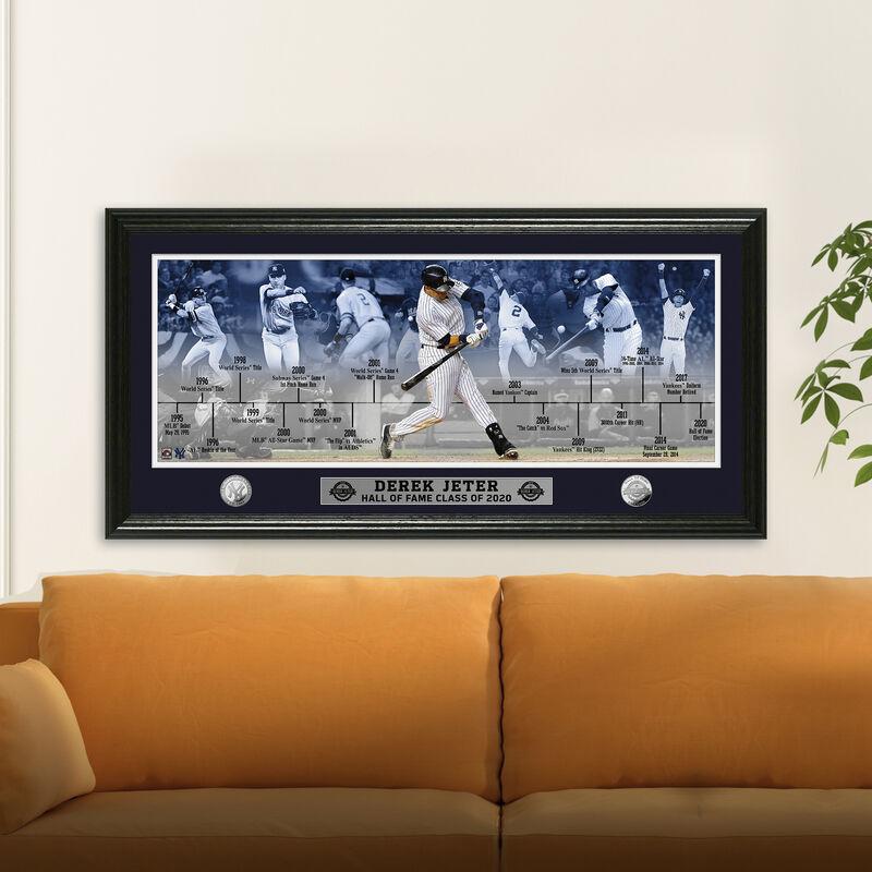 Derek Jeter 2020 Hall of Fame Career Frame 4392 1725 m room