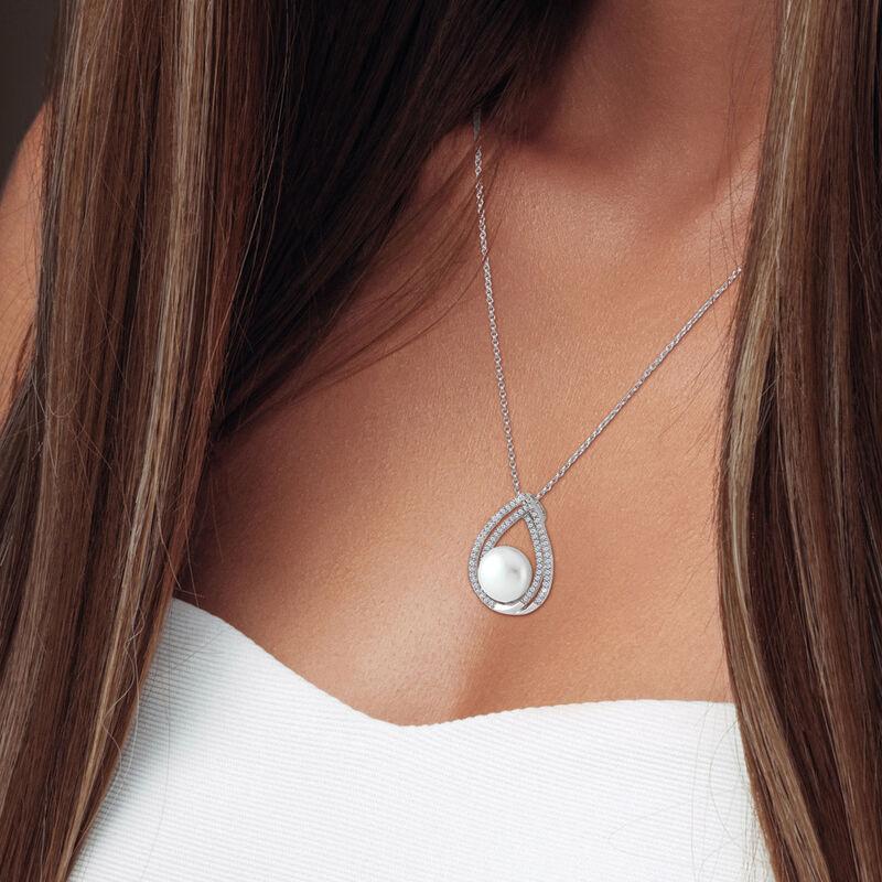 Drop of Elegance Pearl Diamonisse Pendant 6489 0015 m model