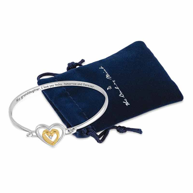 Granddaughter I Love You Diamond Bracelet 2458 001 1 4