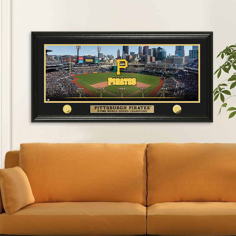 Pittsburgh Pirates World Series Panoramic Frame 4392 171 7 2