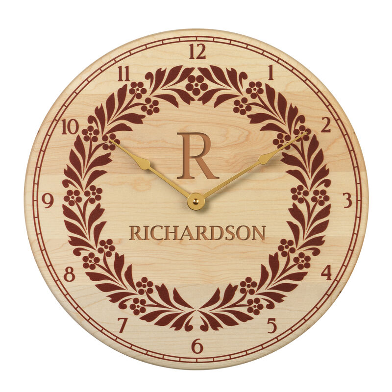 The Personalized Wooden Clock 1674 0011 a main