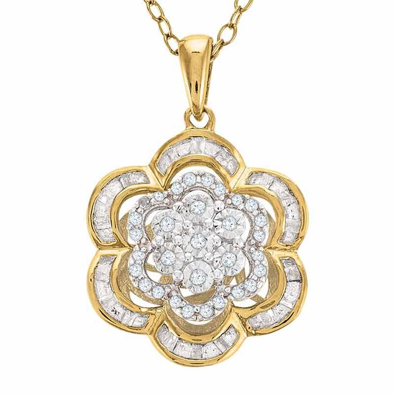 Love in Bloom Diamond Pendant 6409 001 2 1