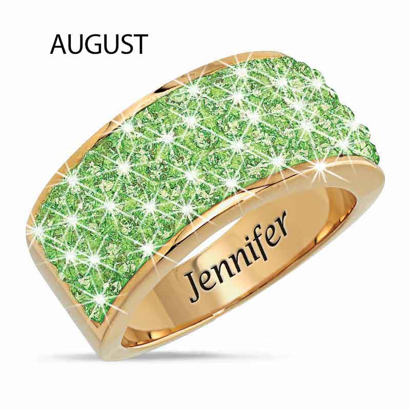 Personalized Birthstone Fire Ring 5806 002 1 9