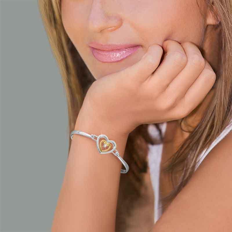 Granddaughter I Love You Diamond Bracelet 2458 001 1 5