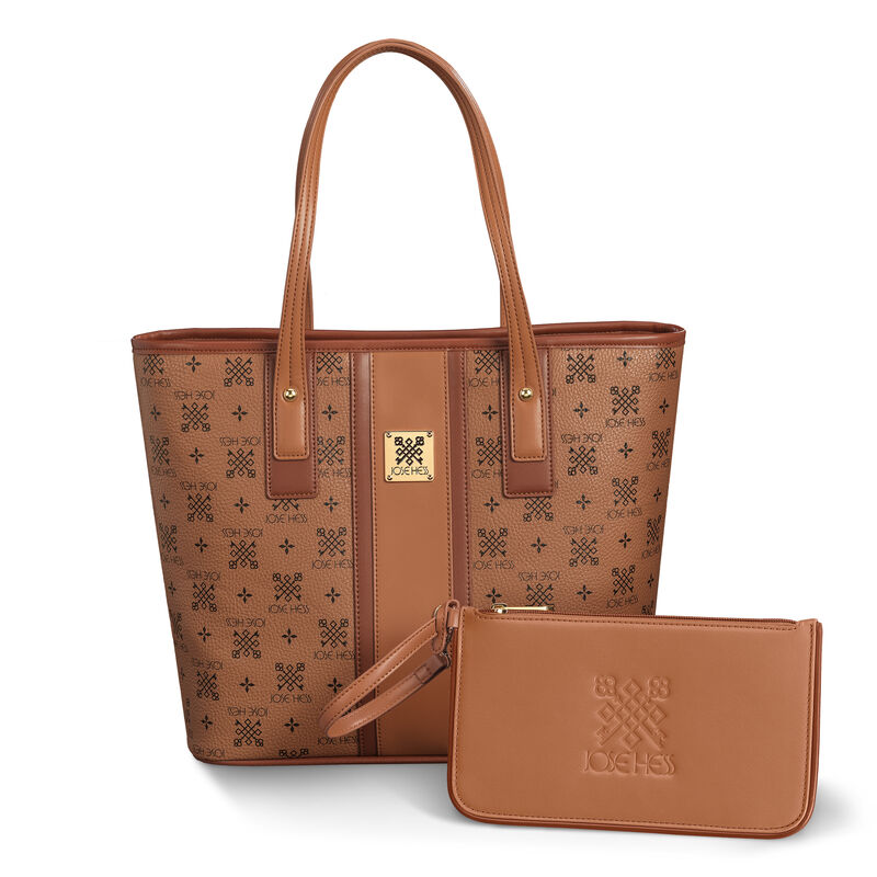 The Jose Hess Cross Key Tote and Pouch 6279 0019 a main