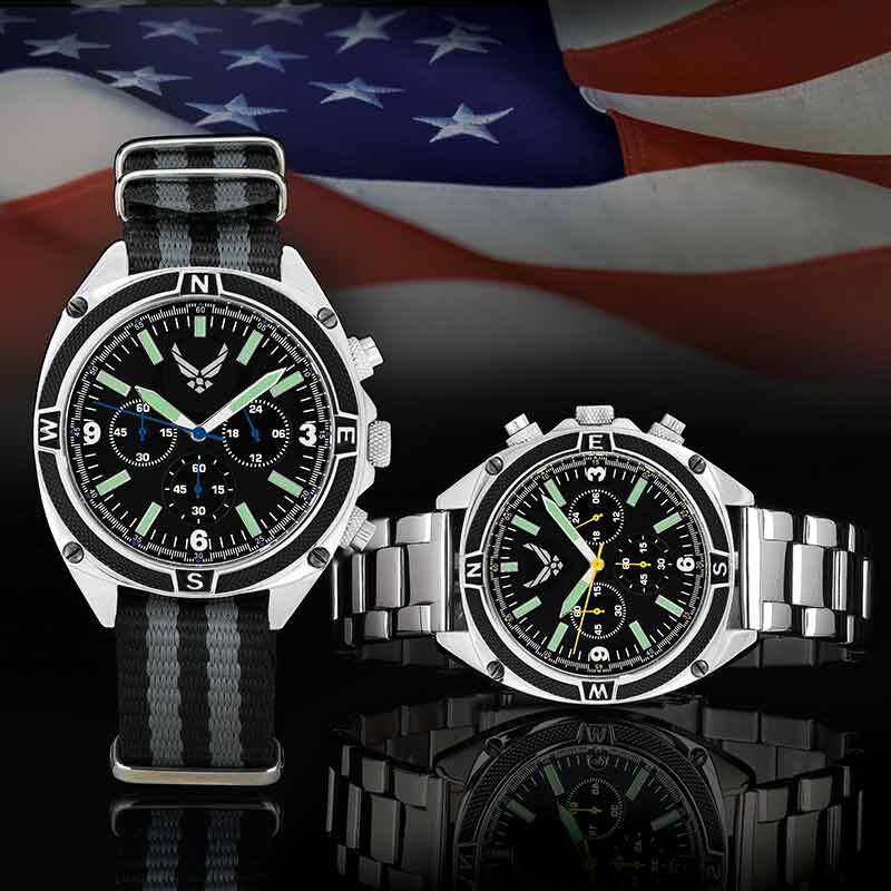 The US Air Force Chronograph Watch 4931 002 2 3