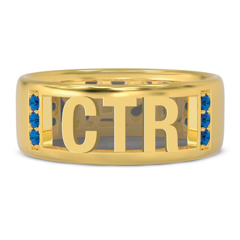 Military Initial Ring 10234 0049 b initial