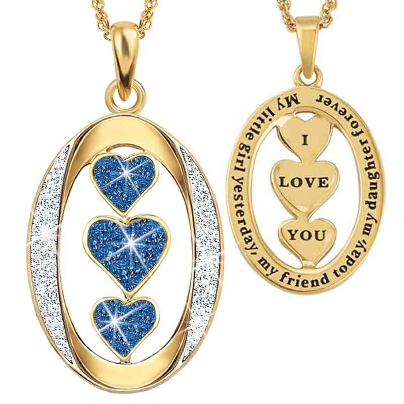 My Daughter I Love You Diamond Pendant 1136 001 3 9