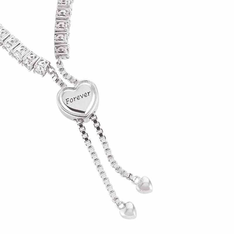 Forever Loved Daughter Tennis Bracelet  Bonus Earrings 6472 001 4 5