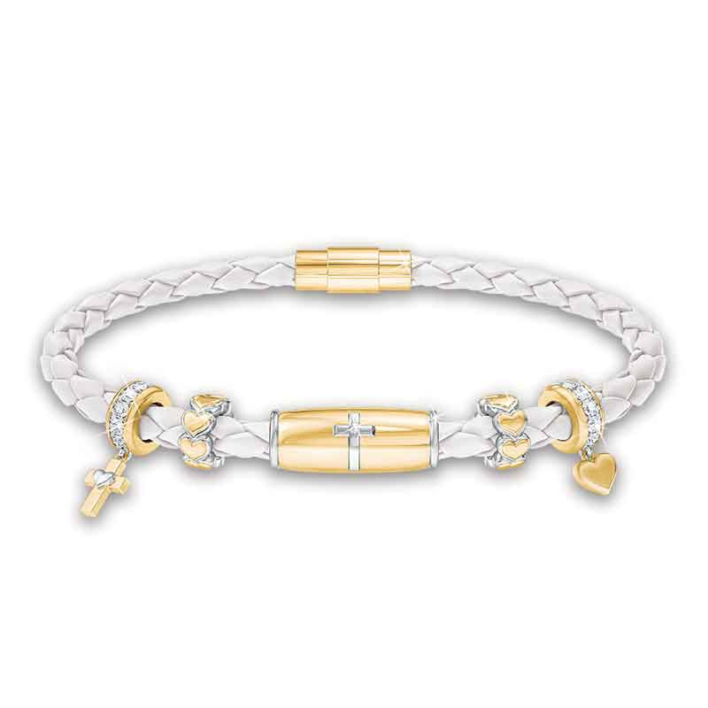 Trust in the Lord Daughter Leather Bracelet 1153 001 1 1