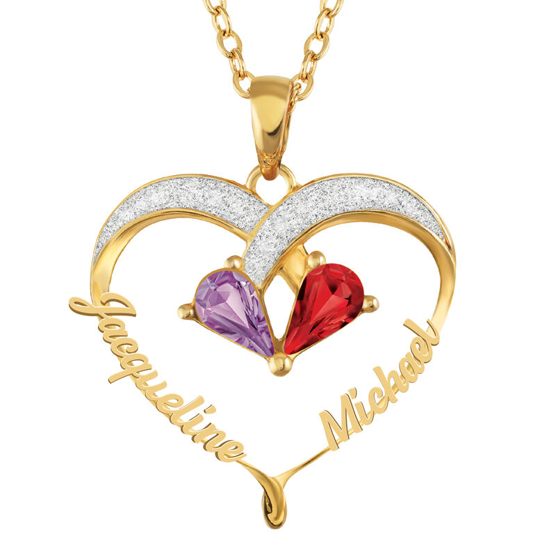 Joined in Love Birthstone Diamond Pendant 2917 0016 a main