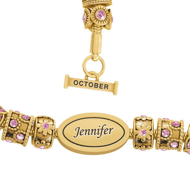 Beauty Personalized Charm Bracelet 2406 001 4 10