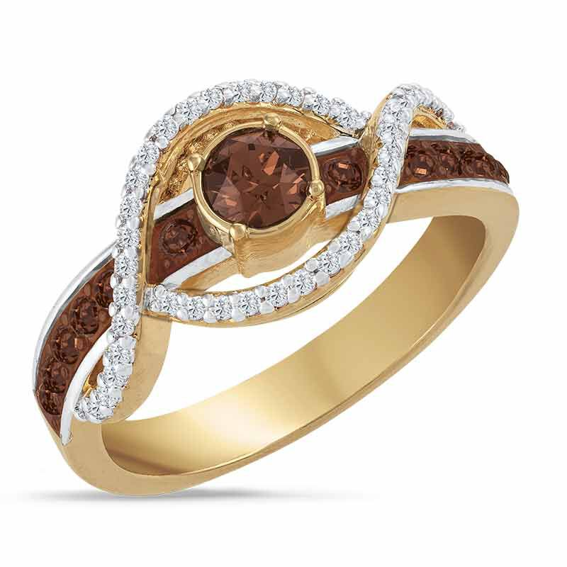 Mocha Wave Diamonisse Ring 6583 001 0 1