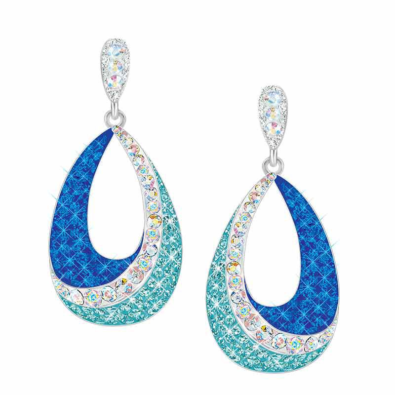 Blue Wave Crystal Earrings 1709 001 0 1