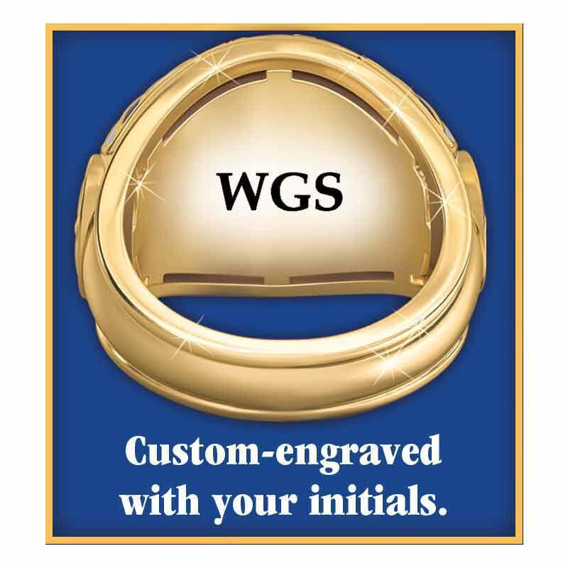 US Marine Corps Veteran Ring 1861 003 0 4