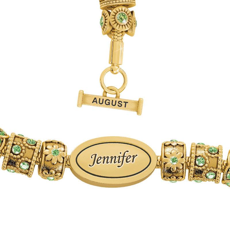 Beauty Personalized Charm Bracelet 2406 001 4 8