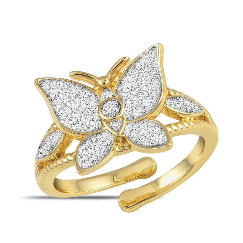 Facets Monthly Diamond Ring Collection 6114 0042 b february