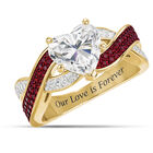 Our Love is Forever Birthstone DIamonisse Ring 10473 0015 a main