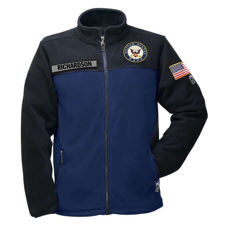The US Navy Womens Fleece Jacket 1662 011 4 1
