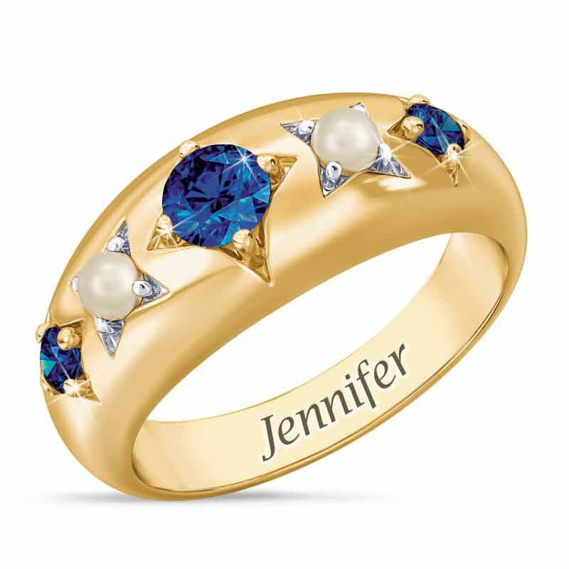 Royal Radiance Personalized Birthstone Ring 1906 001 1 9