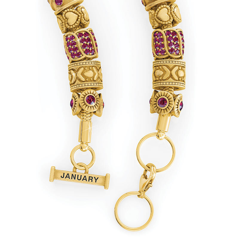 Beauty Personalized Charm Bracelet 2406 001 4 15