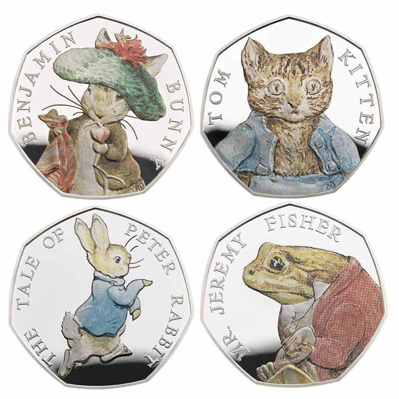 Beatrix Potter Silver Proofs 6433 001 2 3
