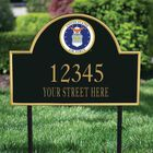 US Air Force Personalized Address Plaque 1664 001 3 2