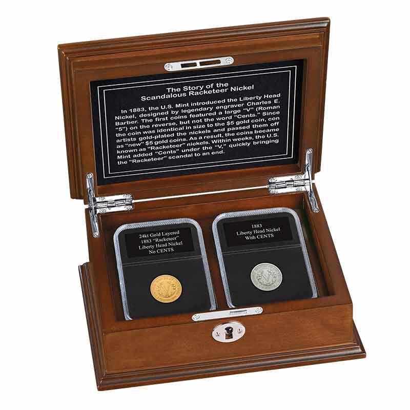 1883 Racketeer Liberty Head Nickel Set 6059 001 5 1