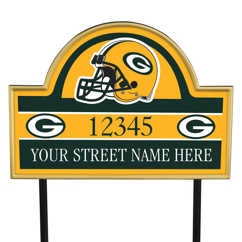 NFL Pride Personalized Address Plaques 5463 0405 a packers