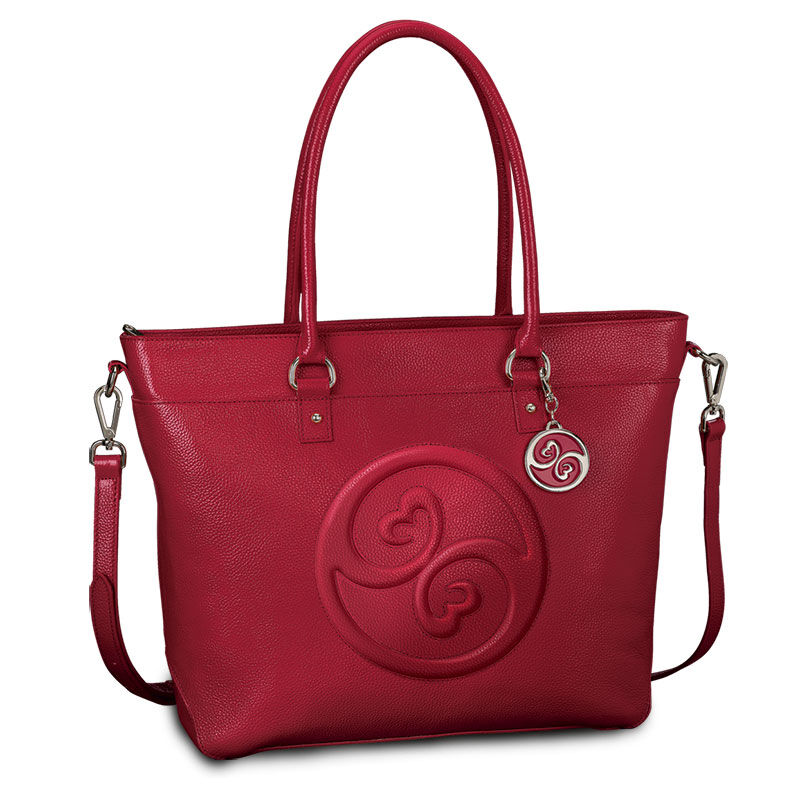 Open Hearts Romantic Red Tote by Jane Seymour 4816 004 8 1