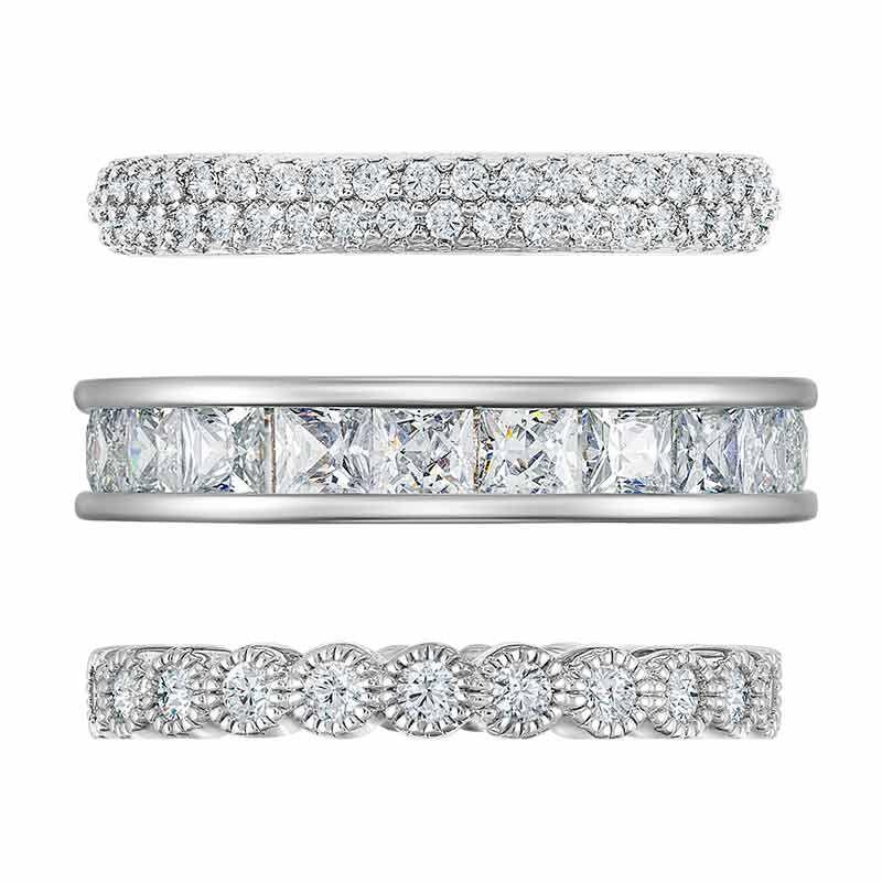 Eternally Beautiful Stackable Ring Set 6190 001 5 2