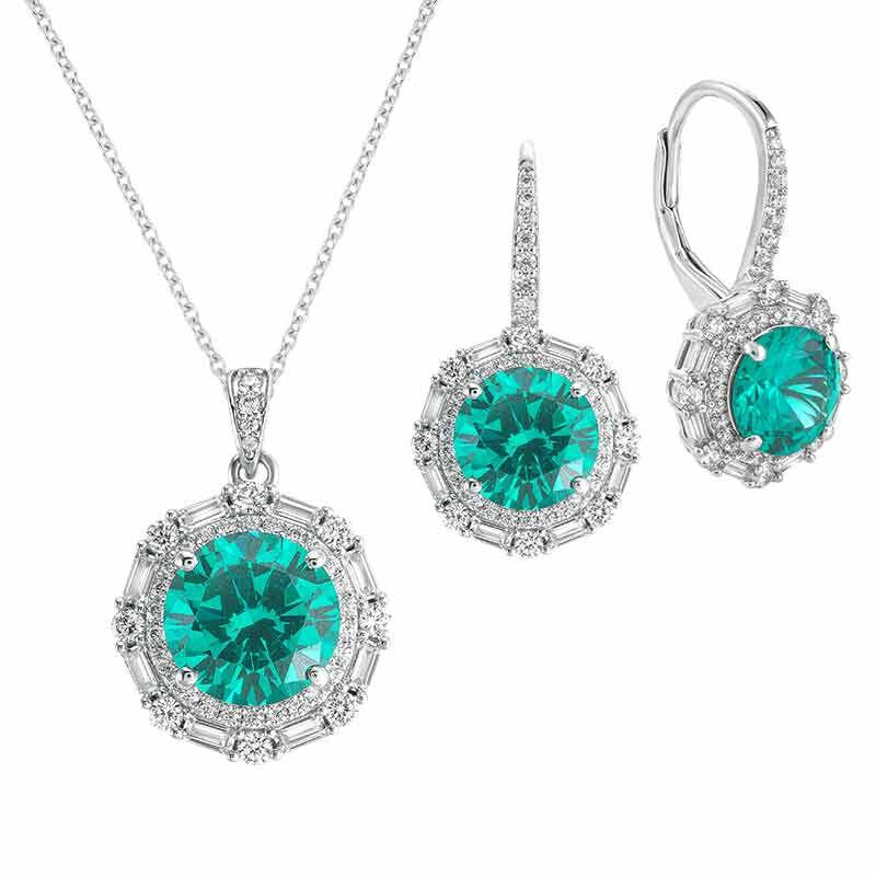 The Brazilian Beauty Necklace  Earring Set 6246 001 9 1