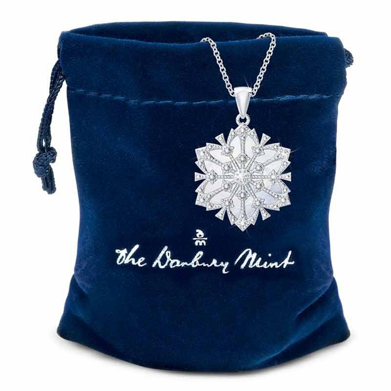 Daughter Diamond Snowflake Pendant 1195 001 1 3