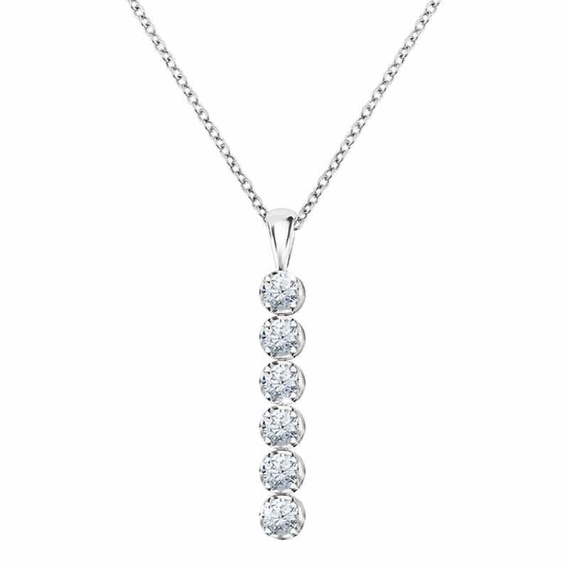 Wondrous Waterfalls Diamonisse Earring and Pendant Set 0839 003 1 2