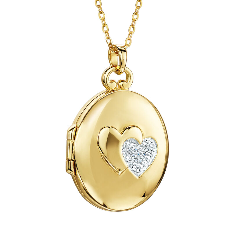 My Daughter Forever Diamond Locket 10216 0025 c back