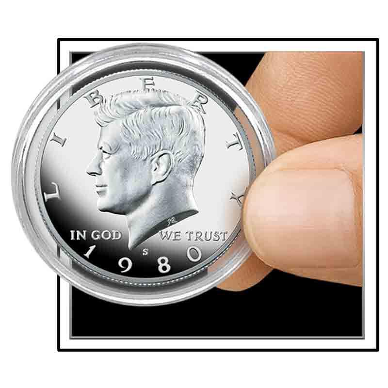 Complete 20th Century Kennedy Half Dollar Proofs 1889 001 2 3