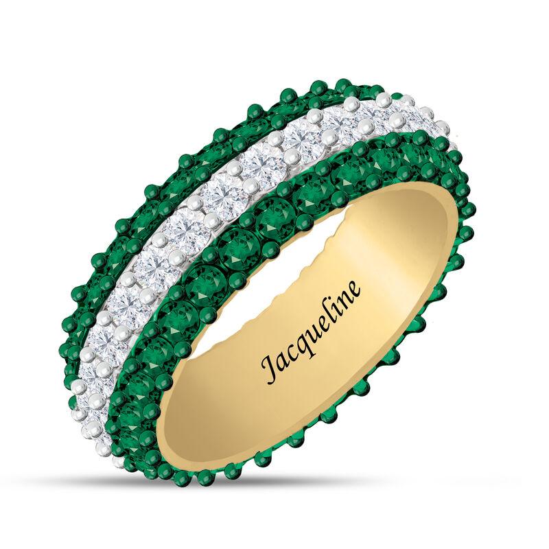 Birthstone Beauty Eternity Ring 6911 0013 e may