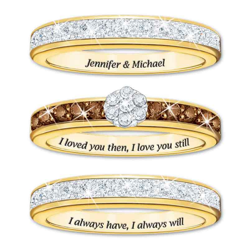 I Love You Always Personalized Diamond Ring Set 4792 006 1 2