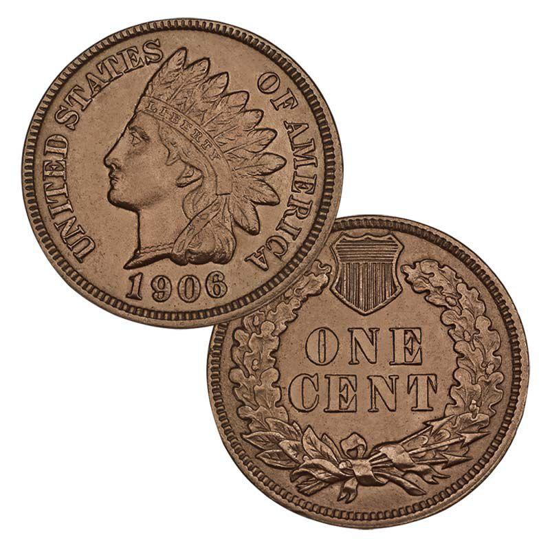 Uncirculated Indian Head Pennies 4514 001 9 1