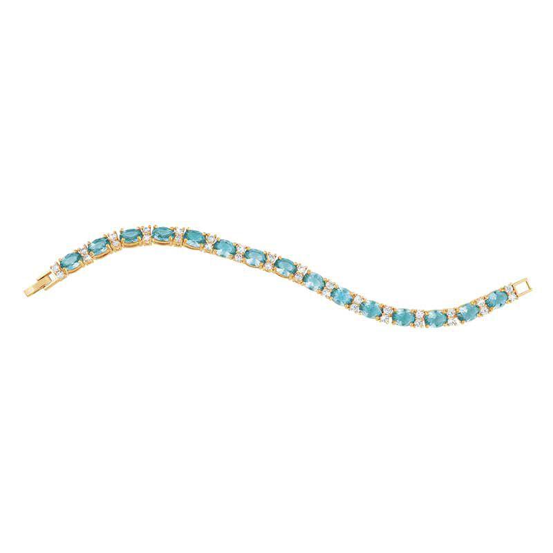 Birthstone Tennis Bracelet 1265 001 6 13