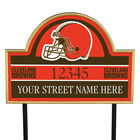 NFL Pride Personalized Address Plaques 5463 0405 a browns