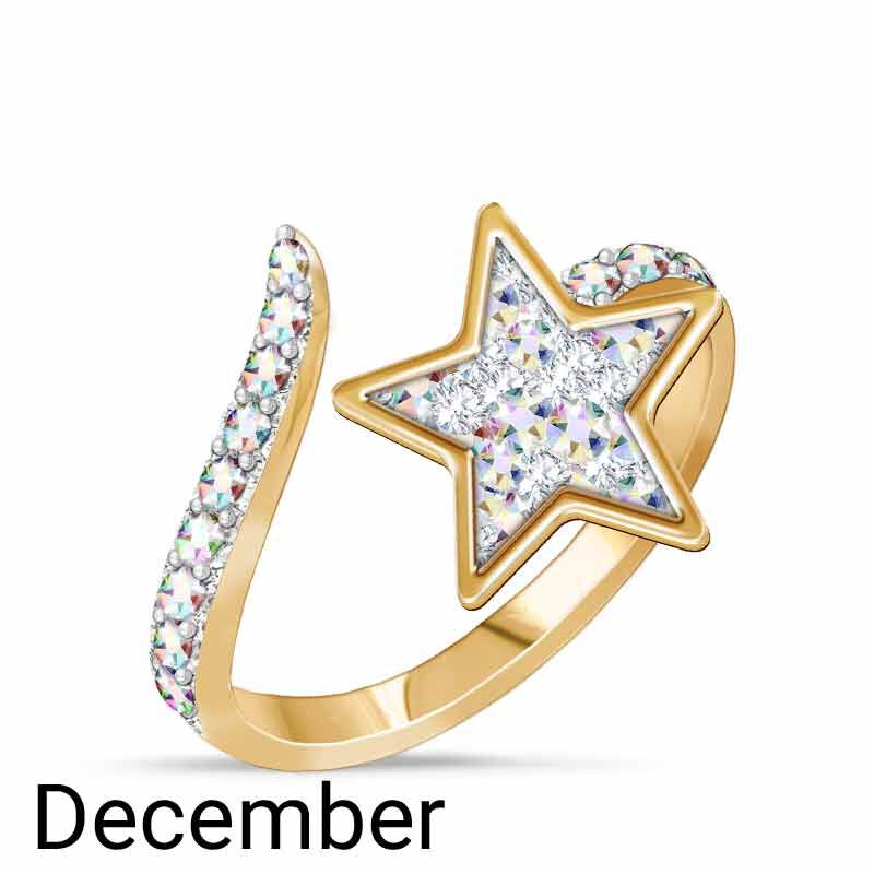 A Colorful Year Crystal Rings   Sizes 5 8 6115 003 3 8